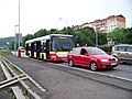 Most, Rudolická, autobus DPmML - SOR zálohový.jpg
