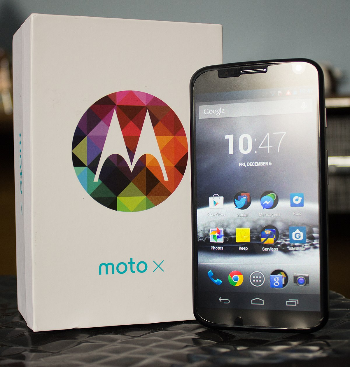 Moto X (1st generation) - Wikipedia