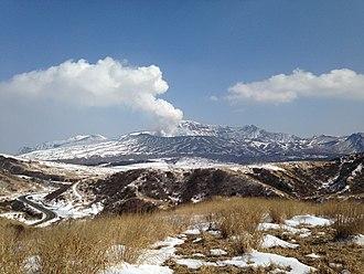 Mount Aso - Mount Naka (Naka volcano)