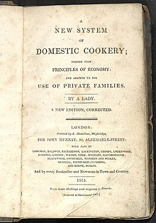 Mrs Rundell New System of Domestic Cookery Title Page 1813.jpg