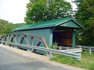 Vinton County, Ohio - Mt. Olive Covered Bridge