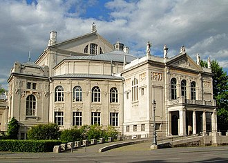 University of Music and Performing Arts Munich - The Prinzregententheater, home of the theatre studies department