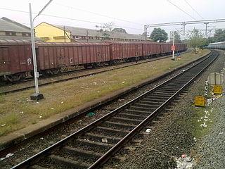 Mulankunnathukavu railway station Railway station in Thrissur, Kerala, India