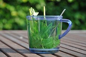 Mint tea - Image: Muntthee 02