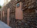 Muralla Granollers Carrer Jaume Camp i Lloreda.JPG
