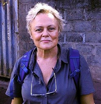 Muriel Robin - Muriel Robin in Basankusu, 2016