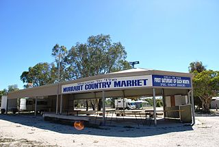 Murrabit Town in Victoria, Australia