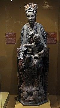 Musée de Cluny Naissance de la sculpture gothique Notre-Dame de la Carole Priorale Saint-Martin-des-Champs 05012019 1.jpg
