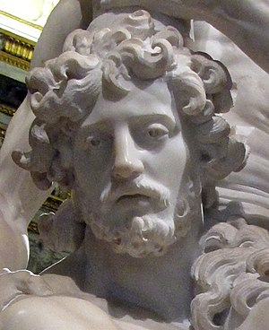 Aeneas, Anchises, and Ascanius - Detail