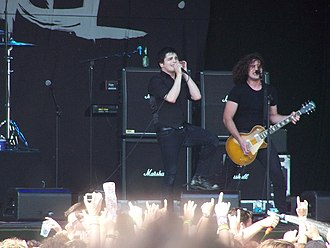 Ray Toro - Ray Toro (right) in 2007
