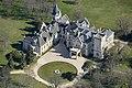 Nádasdladány, Nádasdy-kastély légi felvételen.jpg