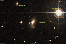 NGC 1646-3, links van NGC 1646(?)