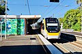 NGR753 approaching Sherwood railway station, Brisbane.jpg