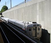 NJT 5166 on Atlantic City Line train passing Haddonfield station.jpg