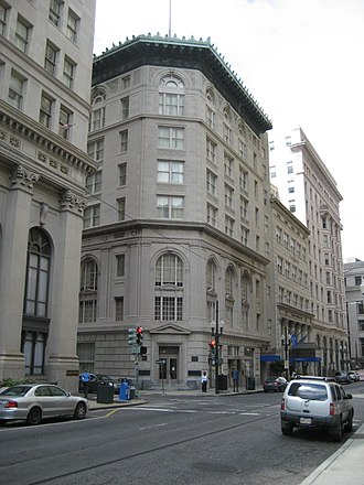 Favrot & Livaudais - New Orleans Cotton Exchange Building, on Carondelet Street in New Orleans