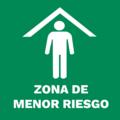 NOM-003-SEGOB 5 1-2 Zona menor riesgo.png