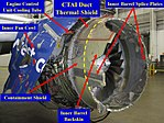 NTSB update May 3 2018 - Southwest Airlines Flight 1380 - N772SW - Figure 1 - Damage to cowl - inboard.jpg