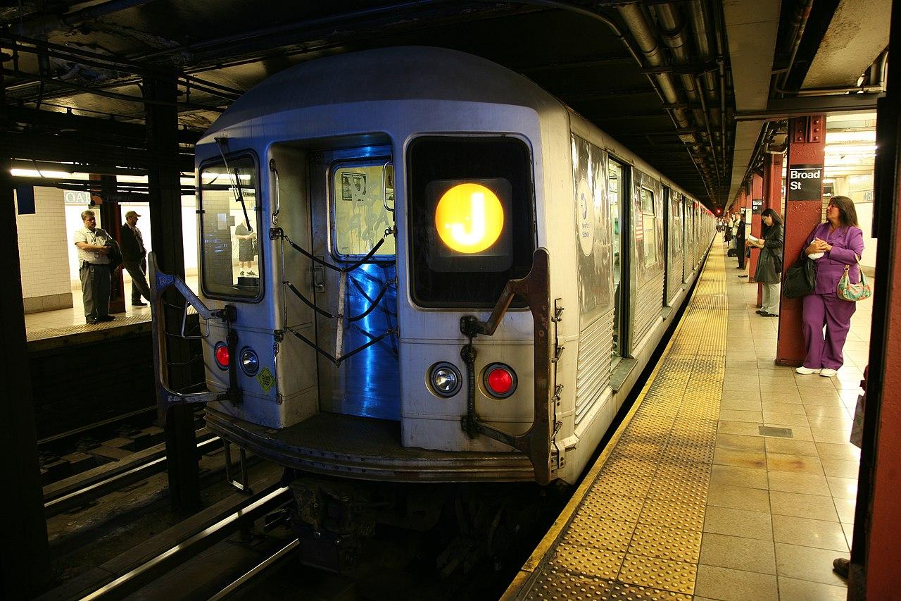 Broad Street BMT Nassau Street Line Wikiwand - Nyc subway map j train