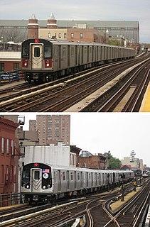 New Technology Train family of New York City Subway cars