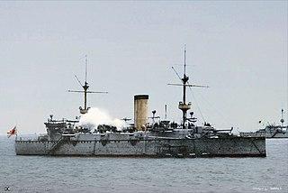 Japanese cruiser <i>Naniwa</i>