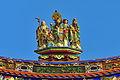 Nankunshen Temple, Roof Sculpture of Jade Emperor Shrine (Taiwan).jpg