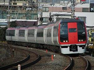 Narita Express - A Narita Express 253 series train in December 2006
