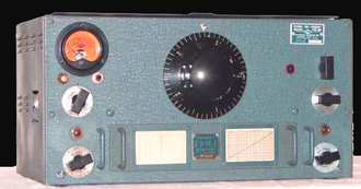 MI8 - National HRO receiver, extensively used by the RSS