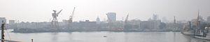 Bombay Dockyard - Image: Naval Dockyard in Mumbai