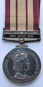 Naval General Service Medal 1915 (Obverse) Clasp 'Near East'.jpg