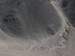 Nazca Baby Condor geoglyph