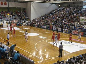 National Basketball League (Australia) - Melbourne Tigers and Gold Coast Blaze at State Netball and Hockey Centre