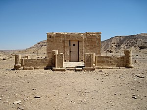El Kab - Temple of Amenhotep III at El Kab