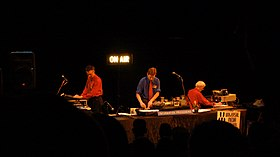 Negativland performing in 2007