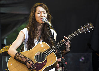 Nerina Pallot - Nerina Pallot at Cornbury Music Festival, 2006
