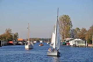 Teylingen Municipality in South Holland, Netherlands