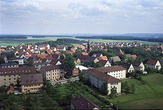 Neuendettelsau - Neuendettelsau in the 1970s