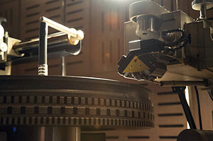 LP record - Neumann lathe