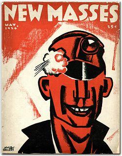 <i>New Masses</i> American Marxist magazine