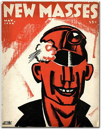 The New Masses - New Masses cover by Hugo Gellert, May 1926