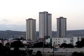 Tijuana - Zona Río, the main business district