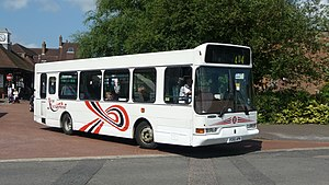 New Enterprise Coaches - East Lancs Spryte bodied Dennis Dart in Sevenoaks in June 2009