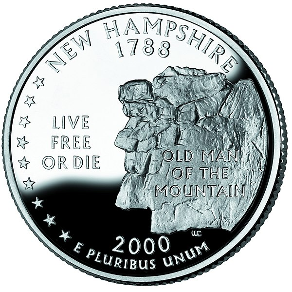 Datei:New Hampshire quarter, reverse side, 2000.jpg