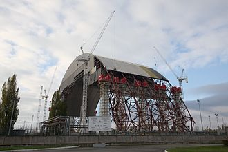 Chernobyl New Safe Confinement - Image: New Safe Confinement