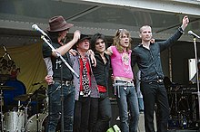 The New York Dolls el 2006.