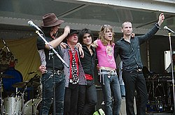 I New York Dolls nel 2006