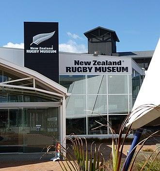New Zealand Rugby Museum - New Zealand Rugby Museum