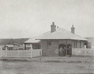 Newbridge, New South Wales - Newbridge Post Office during the early 20th Century.