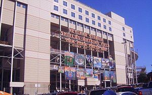 Neyland Stadium - Neyland Stadium at homecoming, prior to Phase III renovations in 2010