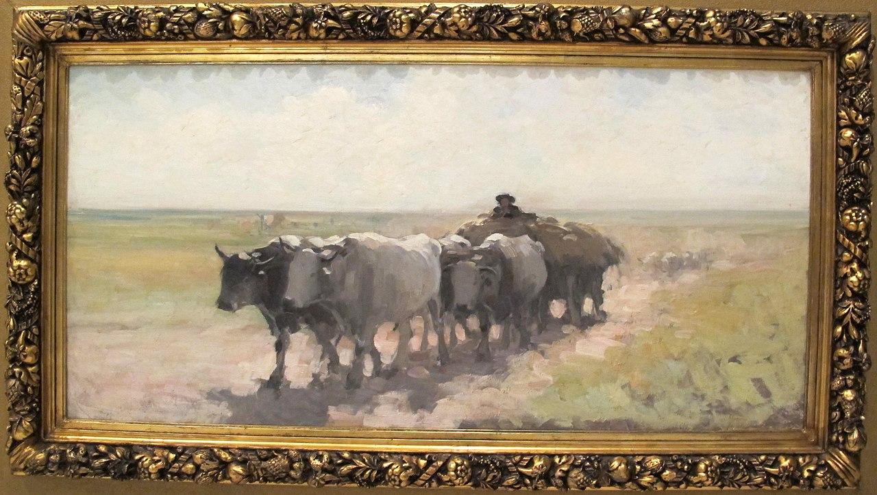file nicolae grigorescu  carro con quattro buoi  1893
