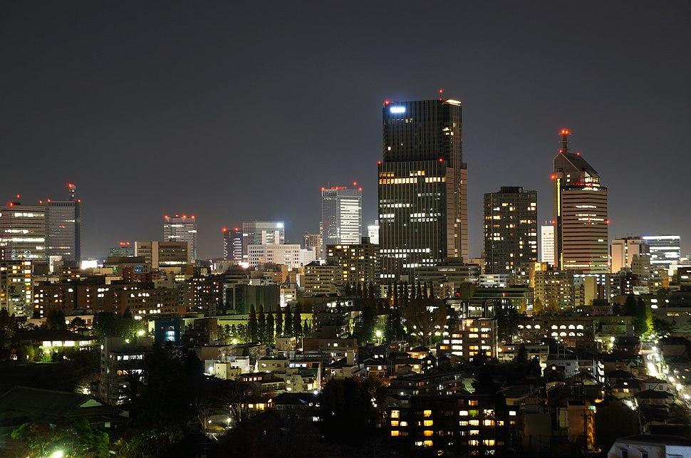 Night view from Mukaiyama